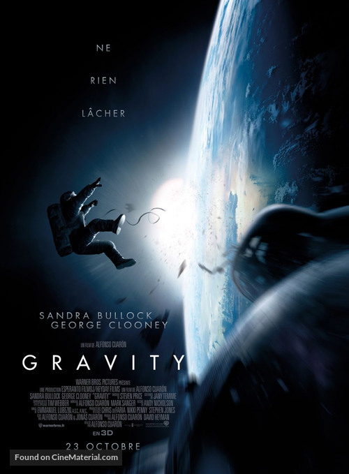 Gravity - French Movie Poster