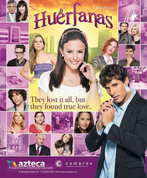 """Huérfanas"" - Mexican Movie Poster"