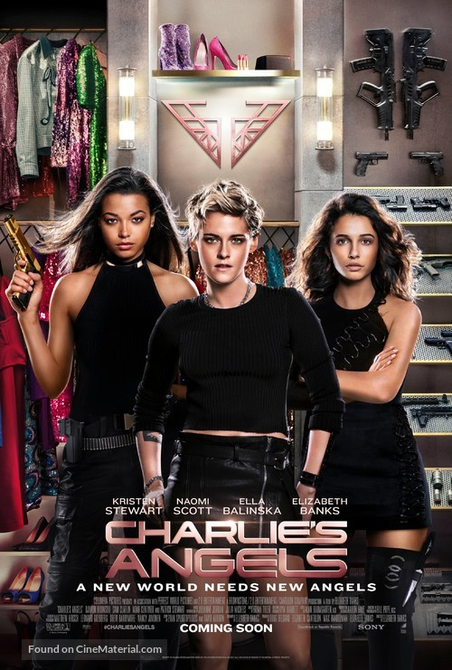 Charlie's Angels - International Movie Poster