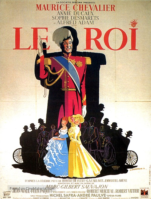 Le roi - French Movie Poster