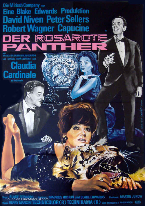 The Pink Panther - German Movie Poster