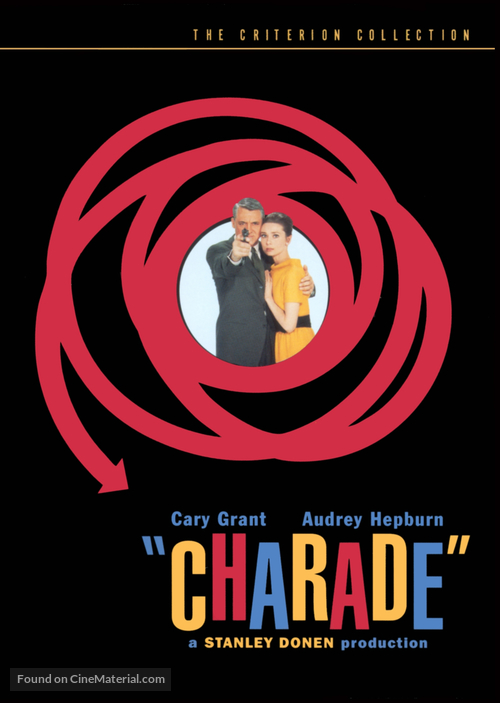 Charade - DVD movie cover