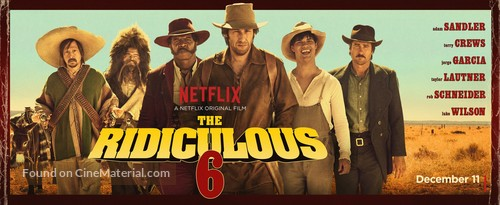 The Ridiculous 6 2015 Movie Poster