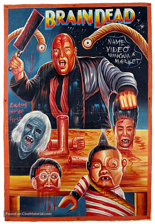 Braindead - Ghanian Movie Poster