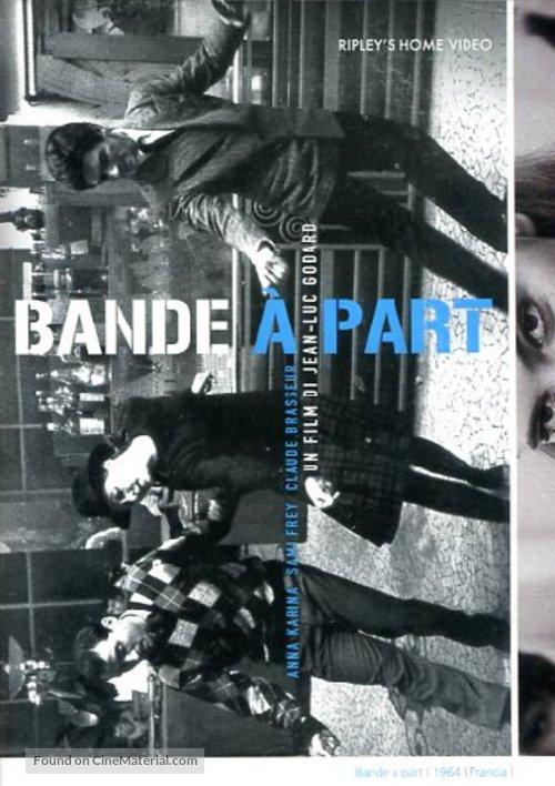 Bande à part - Italian DVD cover