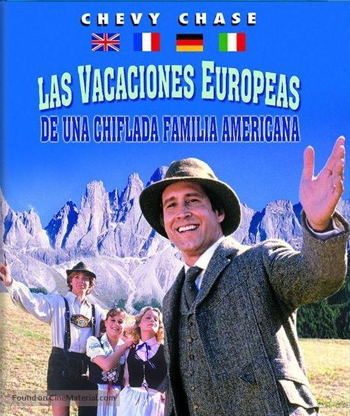 European Vacation - Spanish Blu-Ray movie cover