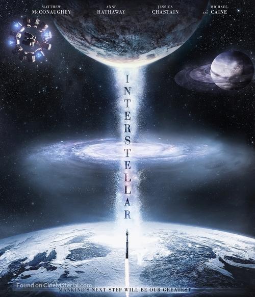 Interstellar - Blu-Ray movie cover