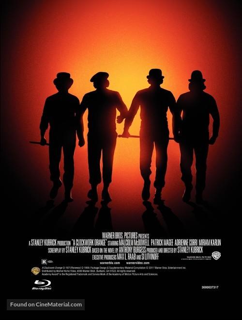 A Clockwork Orange - Video release movie poster