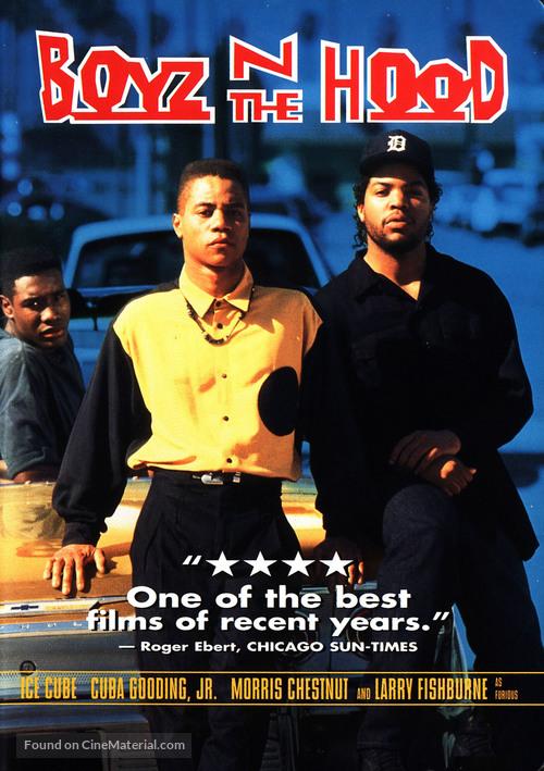 Boyz N The Hood - DVD movie cover