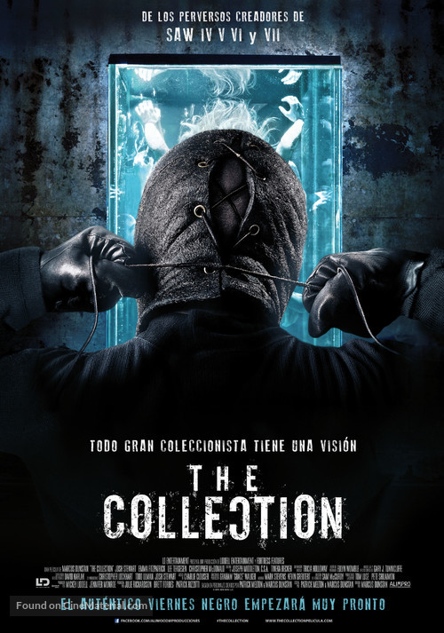 The Collection - Spanish Movie Poster