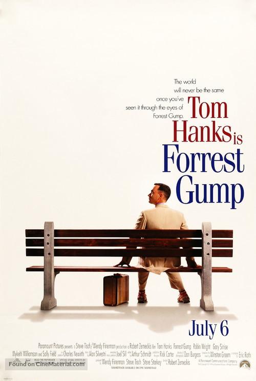 Forrest Gump - Movie Poster