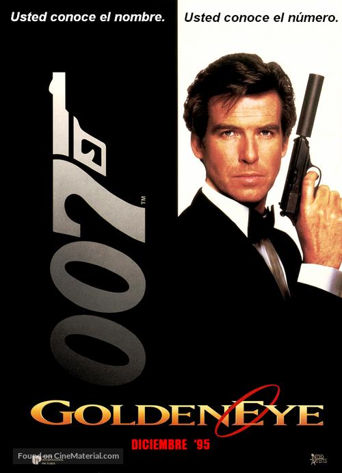 GoldenEye - Argentinian Movie Poster