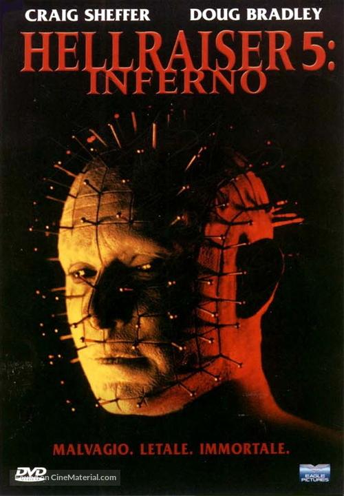 Hellraiser: Inferno - Italian Movie Cover