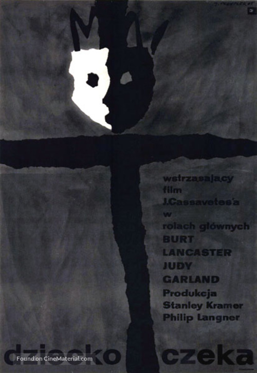 A Child Is Waiting - Polish Movie Poster