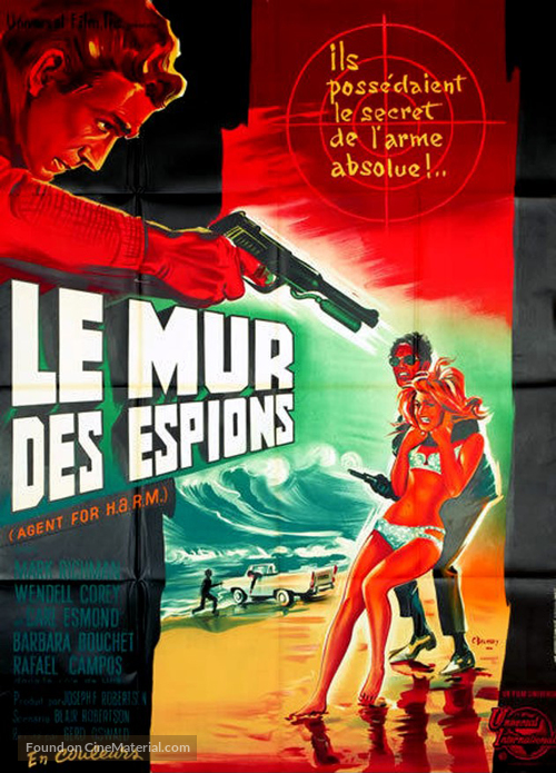 Agent for H.A.R.M. - French Movie Poster