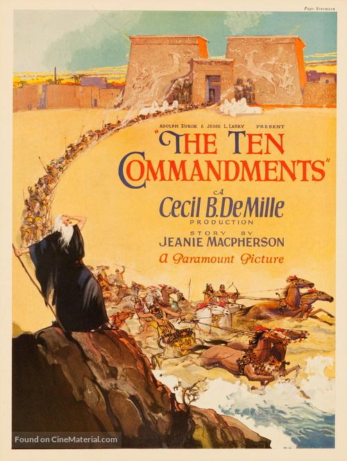 The Ten Commandments - poster