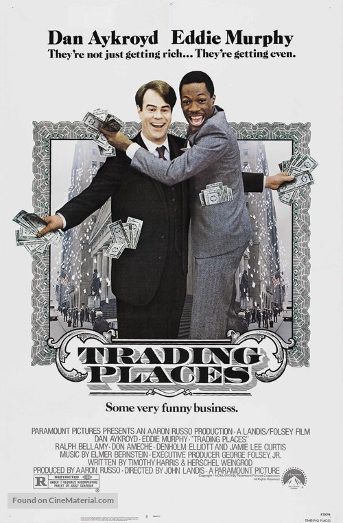 Trading Places - Movie Poster