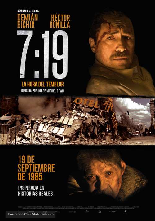 7:19 - Mexican Movie Poster