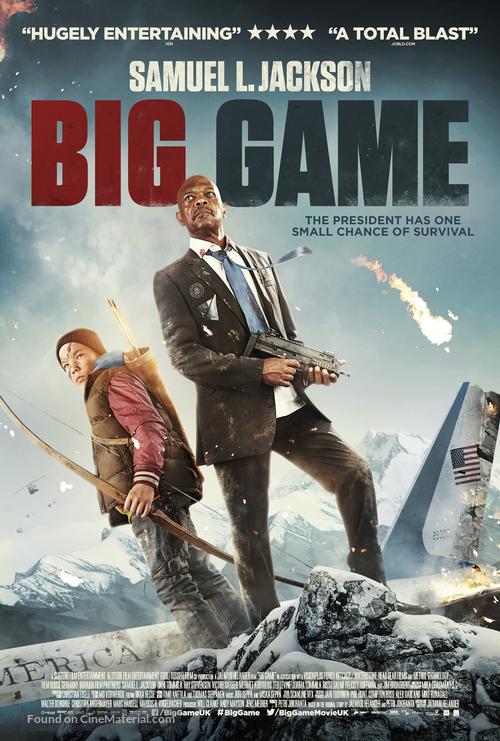 Big Game - British Movie Poster