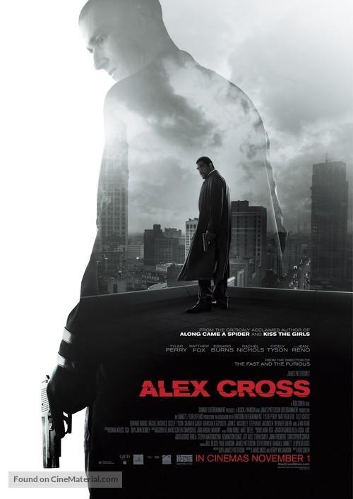 Alex Cross - New Zealand Movie Poster