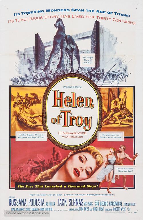 Helen of Troy - Movie Poster