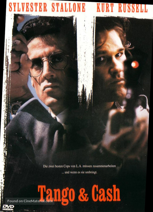 Tango And Cash - German DVD movie cover