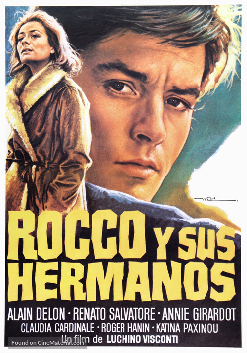 Rocco e i suoi fratelli - Spanish Movie Poster
