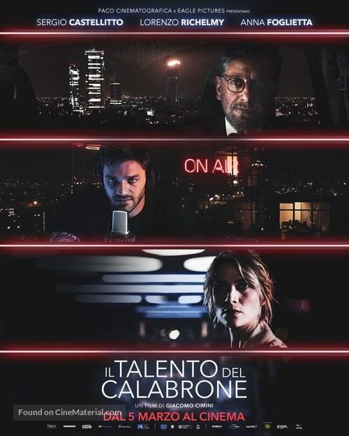 Il talento del calabrone - Italian Movie Poster
