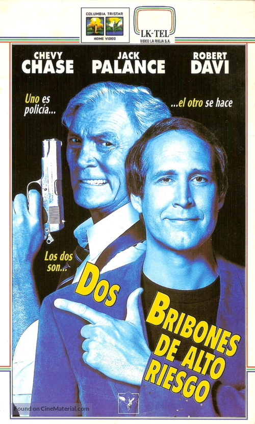 Cops and Robbersons - Argentinian VHS movie cover