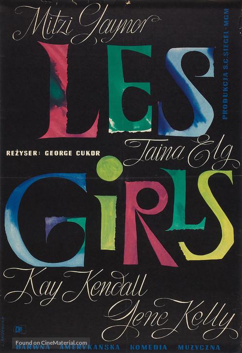 Les Girls - Polish Movie Poster