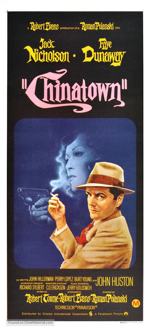 Chinatown - Australian Movie Poster