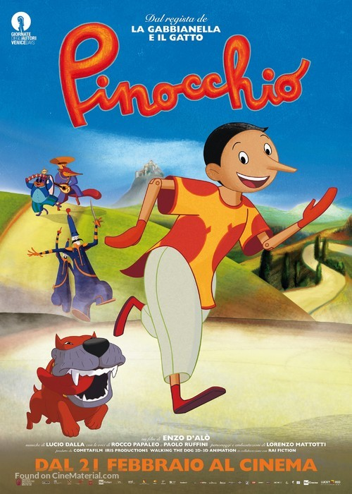 Pinocchio - Italian Movie Poster