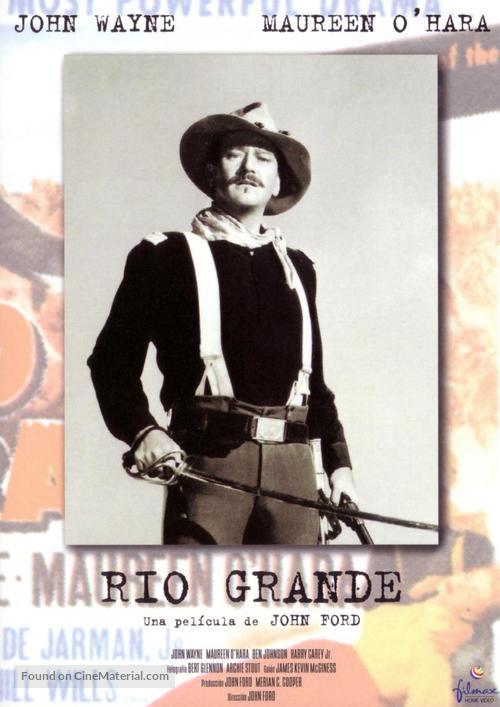 Rio Grande - Spanish Movie Cover