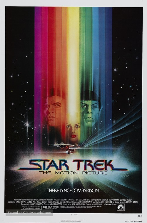 Star Trek: The Motion Picture - Advance movie poster