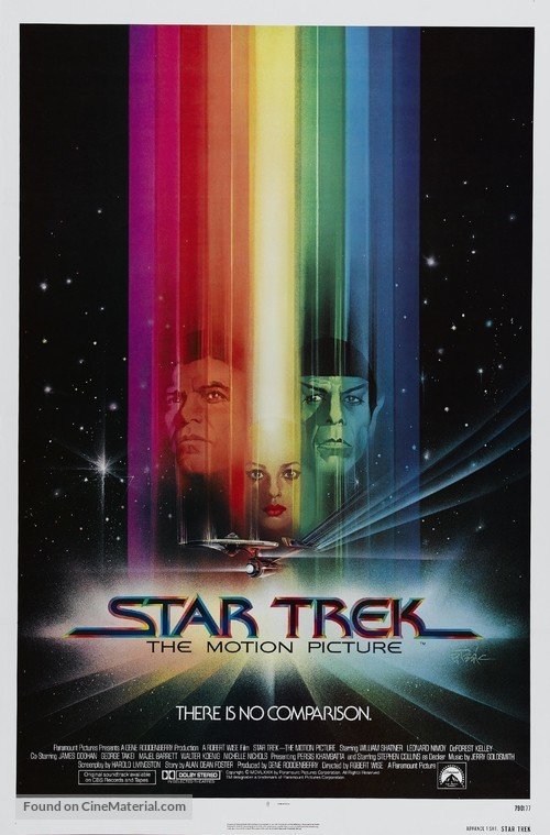 Star Trek: The Motion Picture - Advance poster