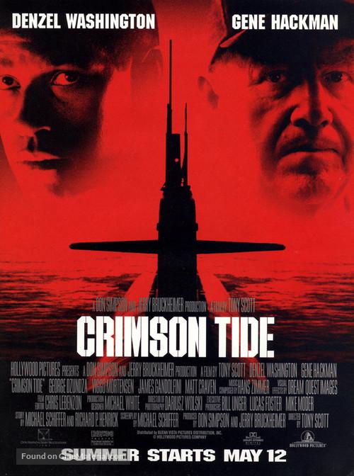 Crimson Tide - Movie Poster