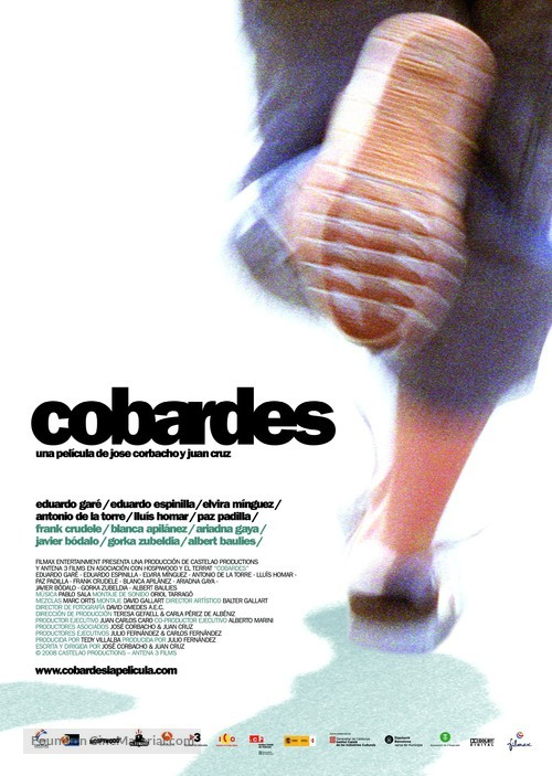 Cobardes - Spanish Movie Poster