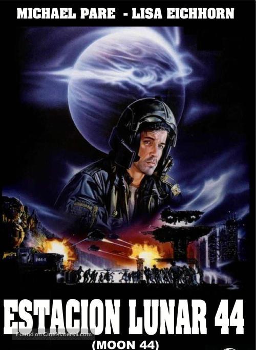 Moon 44 - Spanish DVD movie cover