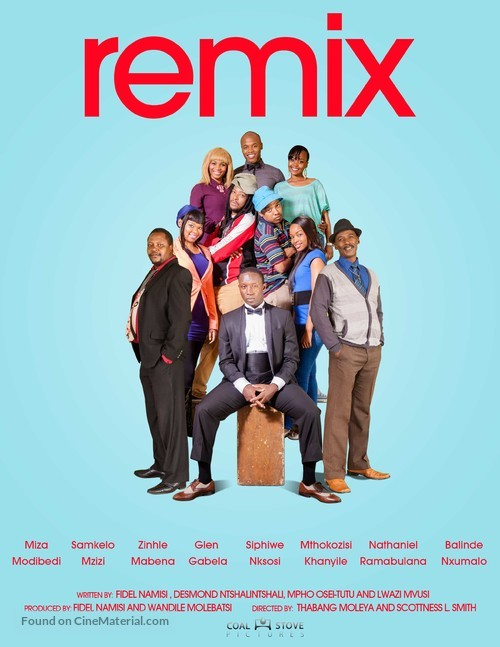 """Remix"" - South African Movie Poster"