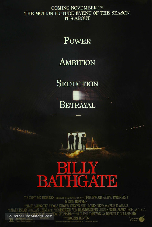 Billy Bathgate - Movie Poster