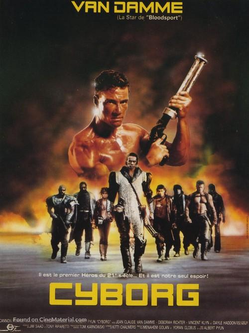 Cyborg - French Movie Poster