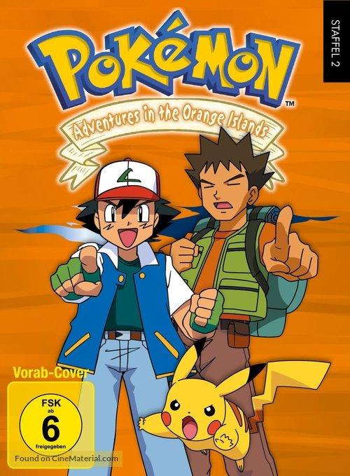 """""""Poketto monsutâ"""" - German DVD movie cover"""