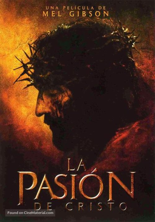 The Passion of the Christ - Argentinian Movie Poster