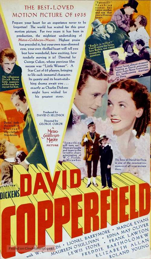 The Personal History, Adventures, Experience, & Observation of David Copperfield the Younger - Movie Poster
