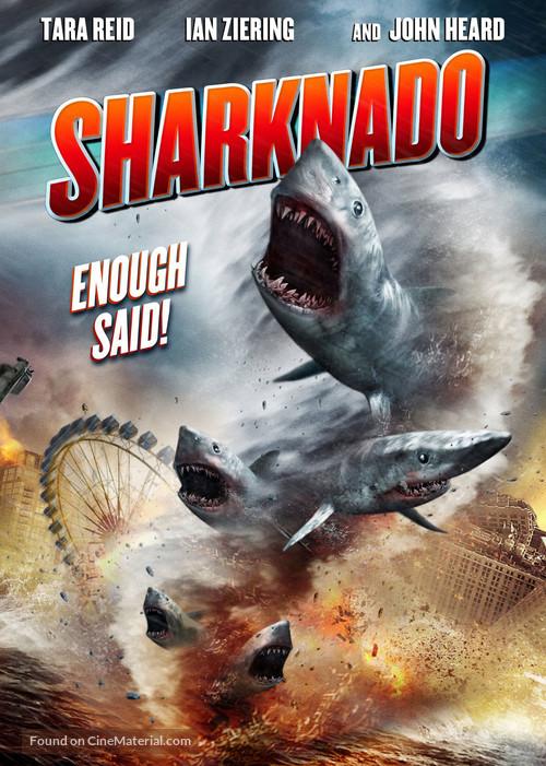 Sharknado - DVD movie cover
