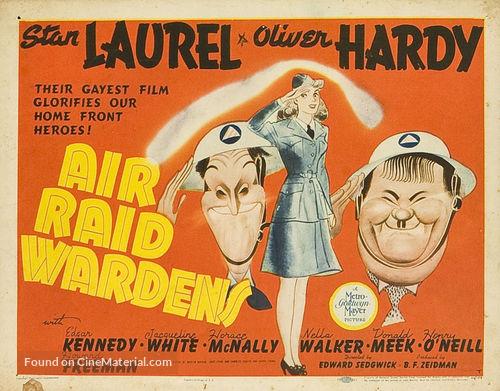 Air Raid Wardens - Movie Poster