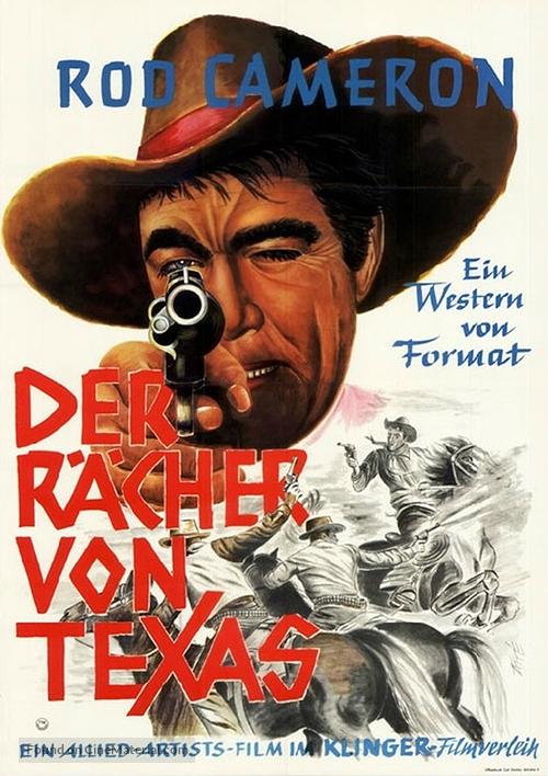 Panhandle - German Movie Poster