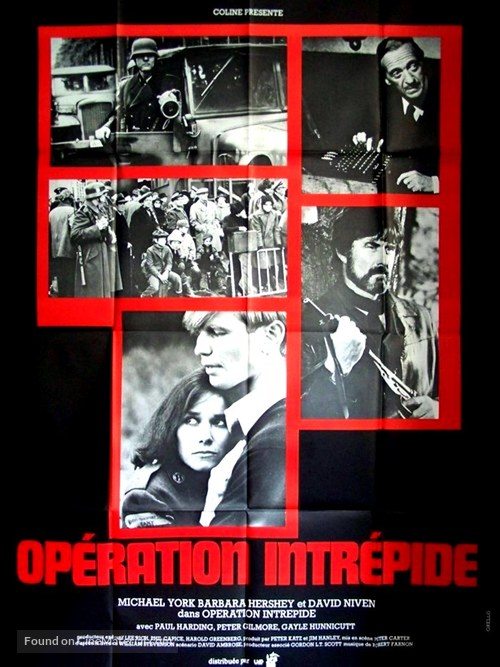 A Man Called Intrepid - French Movie Poster