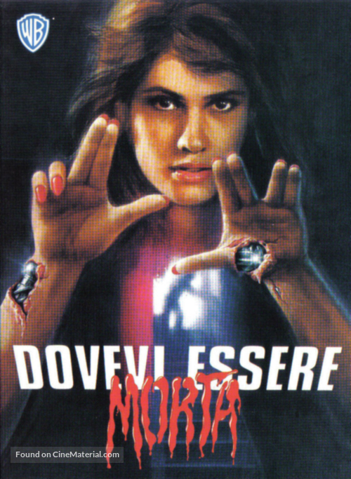 Deadly Friend - Italian Movie Poster