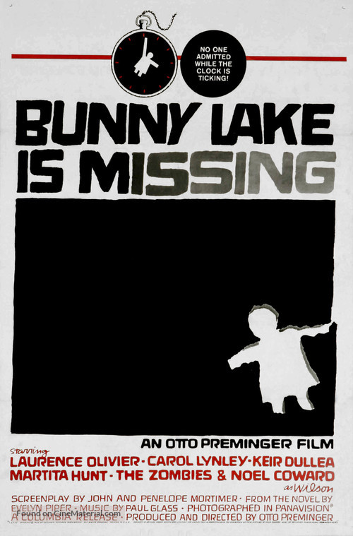 Bunny Lake Is Missing - Theatrical movie poster